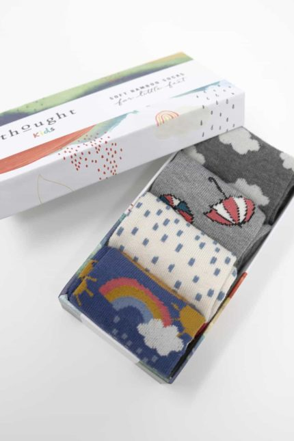 Thought dárkové balení dětských ponožek overcast baby