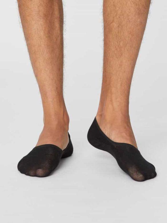 Thought pánské ponožky invisible černé