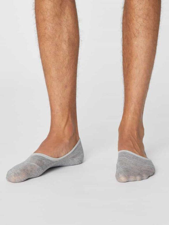 Thought pánské ponožky invisible šedé