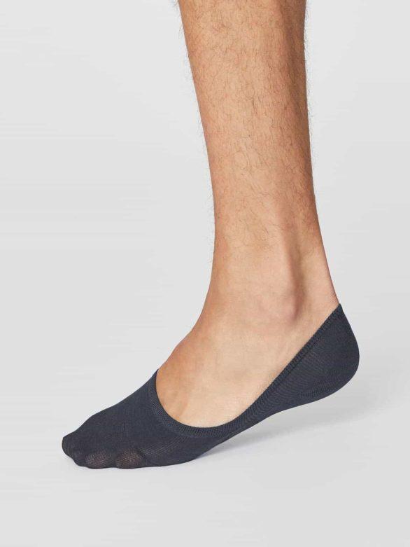Thought pánské neviditelné ponožky modré
