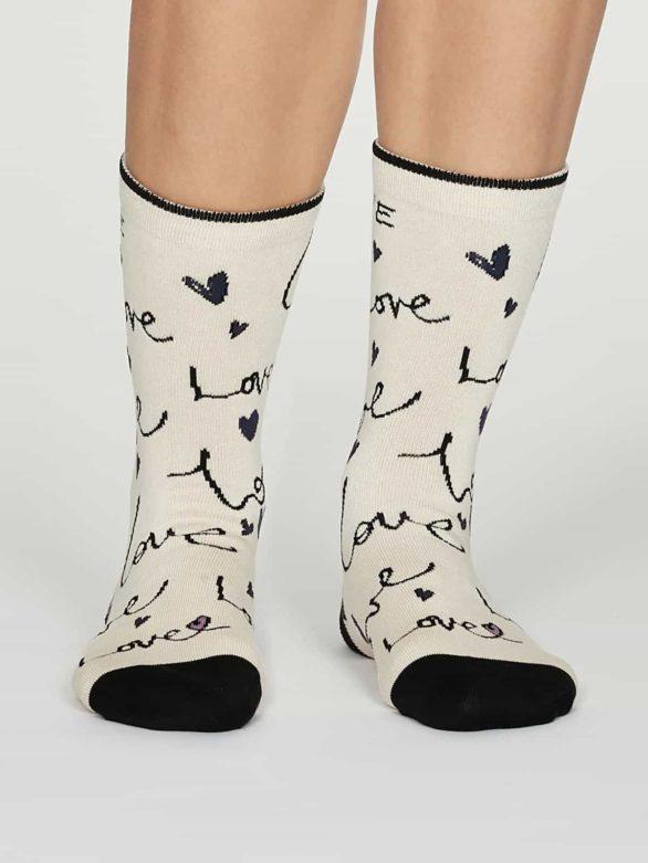 Thought dárkové balení dámských ponožek amore