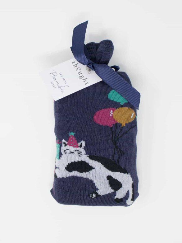 Thought dárkové dvojbalení dámských ponožek lora