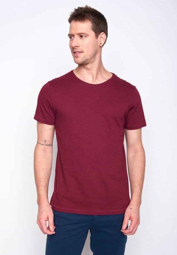 Greenbomb tričko spice bordó