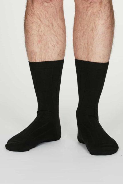 Thought pánské konopné ponožky hero černé