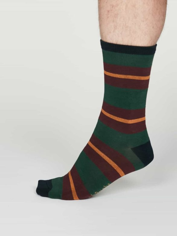 Thought pánské bambusové ponožky jacob zelené
