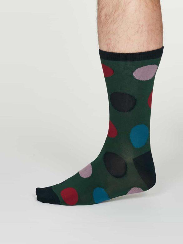 Thought pánské bambusové ponožky newton zelené