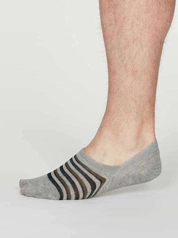 Thought pánské neviditelné ponožky elbert šedé