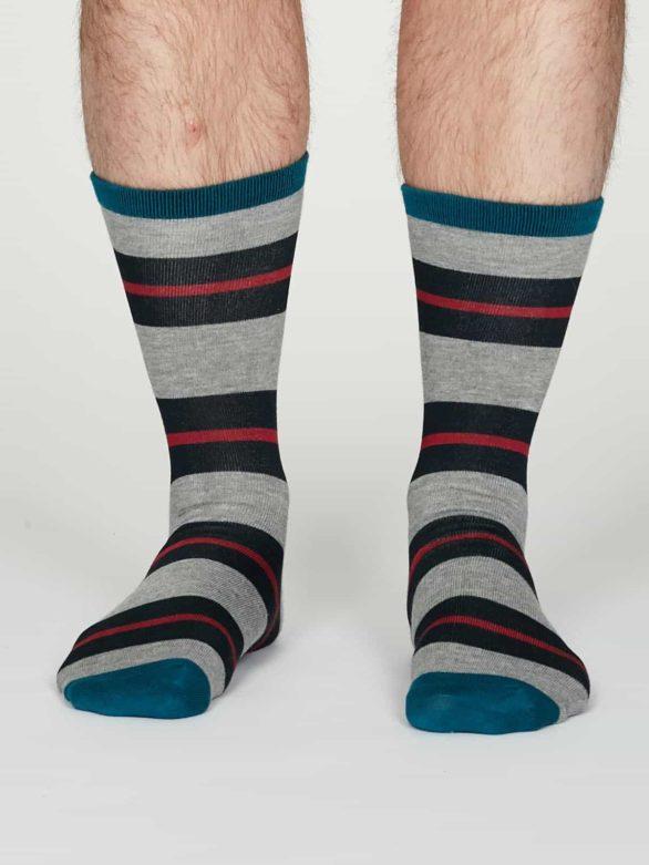 Thought pánské bambusové ponožky jacob šedé