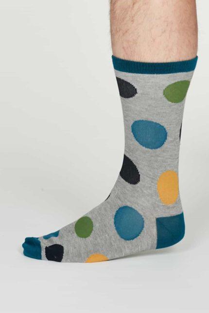 Thought pánské bambusové ponožky newton šedé