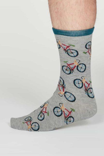 Thought pánské bambusové ponožky wesley šedé