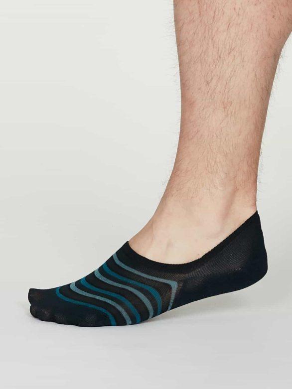 Thought pánské neviditelné ponožky elbert modré