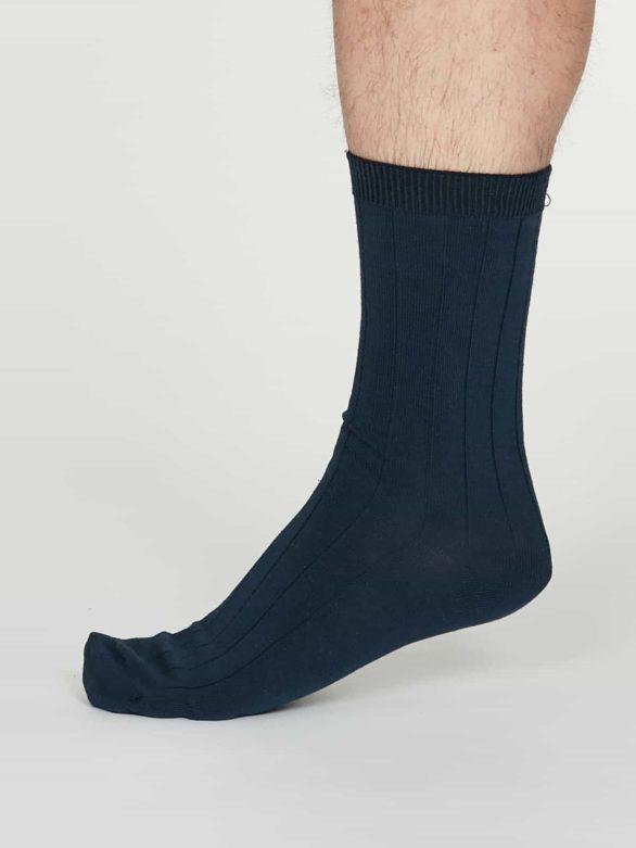 Thought pánské konopné ponožky hero modré