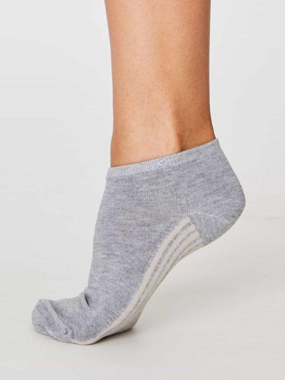 Thought dámské trainer ponožky jane šedé