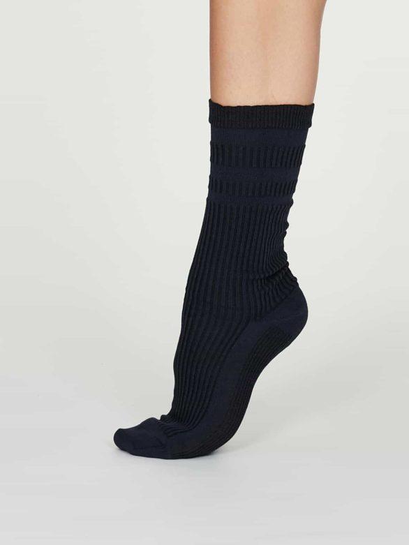 Thought dámské diabetické ponožky beatrice modré
