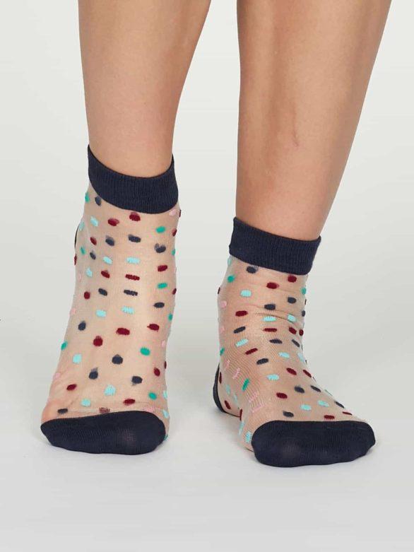 Thought dámské nízké ponožky cecile modré