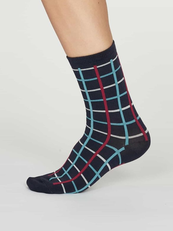 Thought dámské bambusové ponožky matilda modré