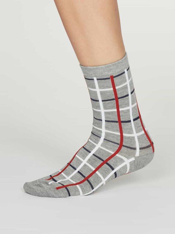 Thought dámské bambusové ponožky matilda šedé
