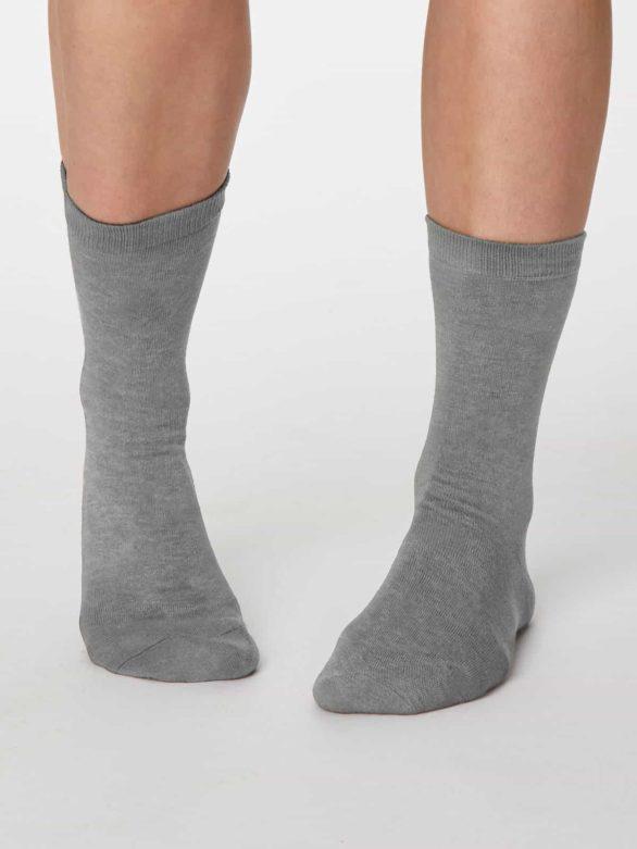 Thought dámské bambusové ponožky jackie šedé