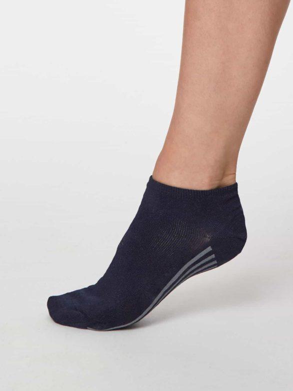 Thought dámské trainer ponožky jane modré