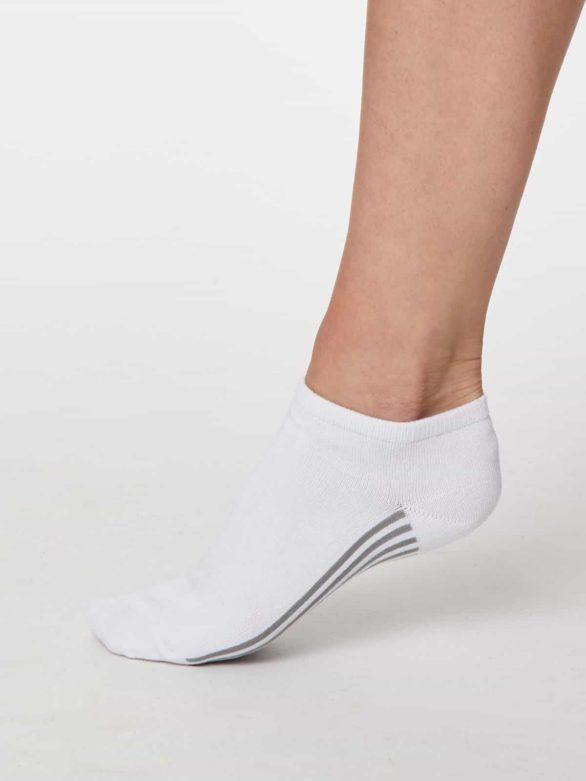 Thought dámské trainer ponožky jane bílé