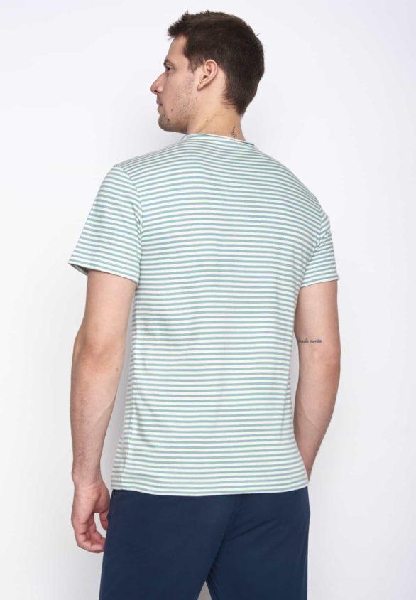 Greenbomb tričko open modré