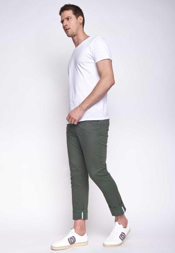 Greenbomb pánské kalhoty tough zelené