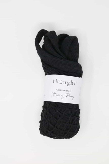 Thought síťovka z bio bavlny černá