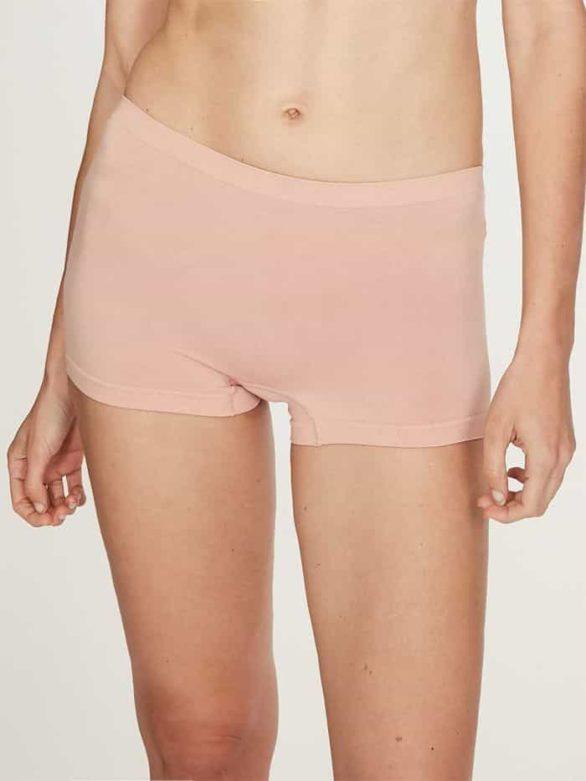 Thought bezešvé kalhotky s nohavičkou renata tělové