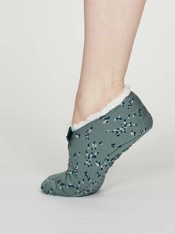 Thought pantofle enid šedé