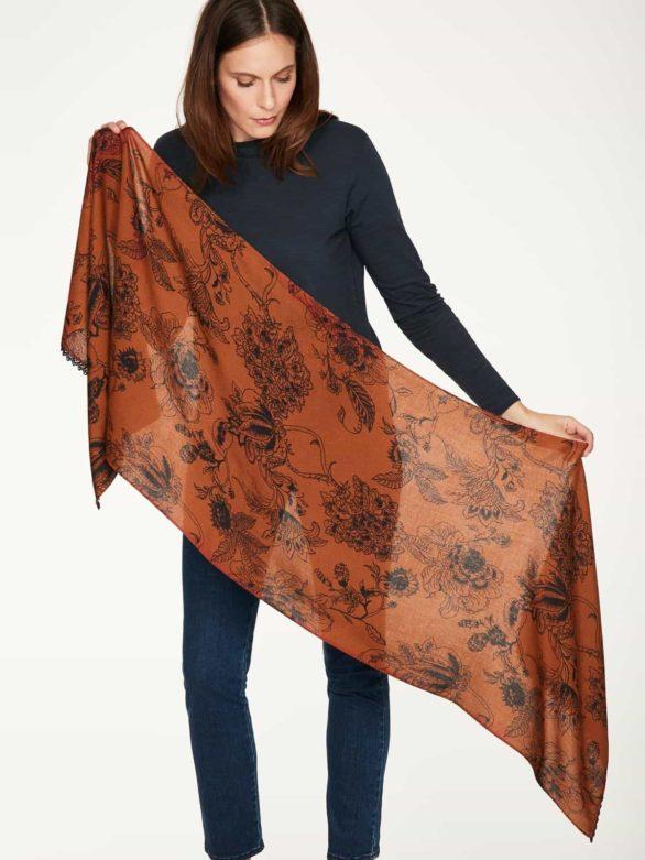 Thought bambusový šátek ellis