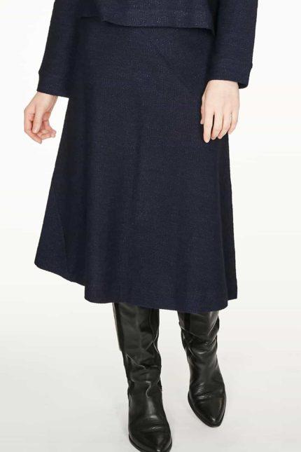 Thought sukně z bio bavlny viola