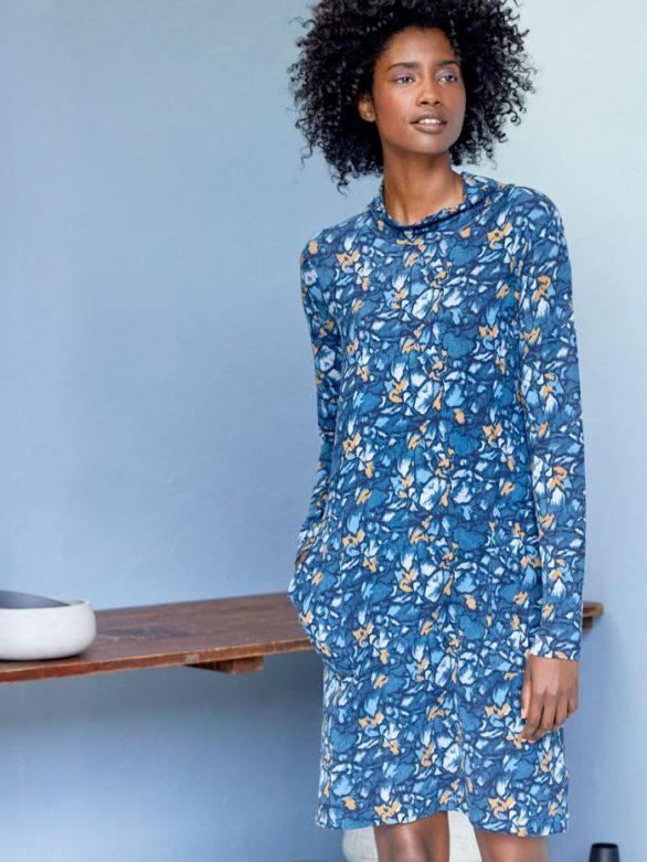Thought bambusové tunikové šaty atkins