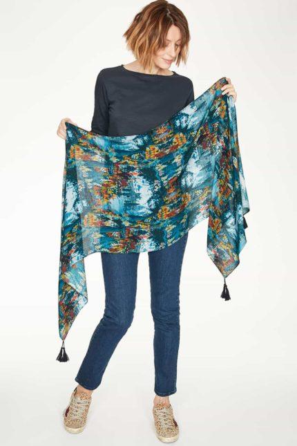 Thought bambusový šátek v dárkové krabičce sissinghurst