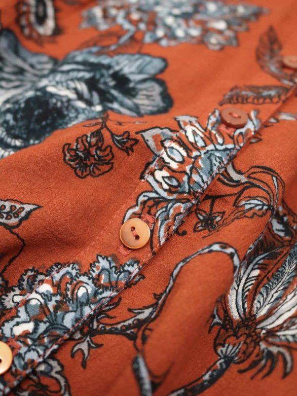 Thought košile ellis z bio bavlny