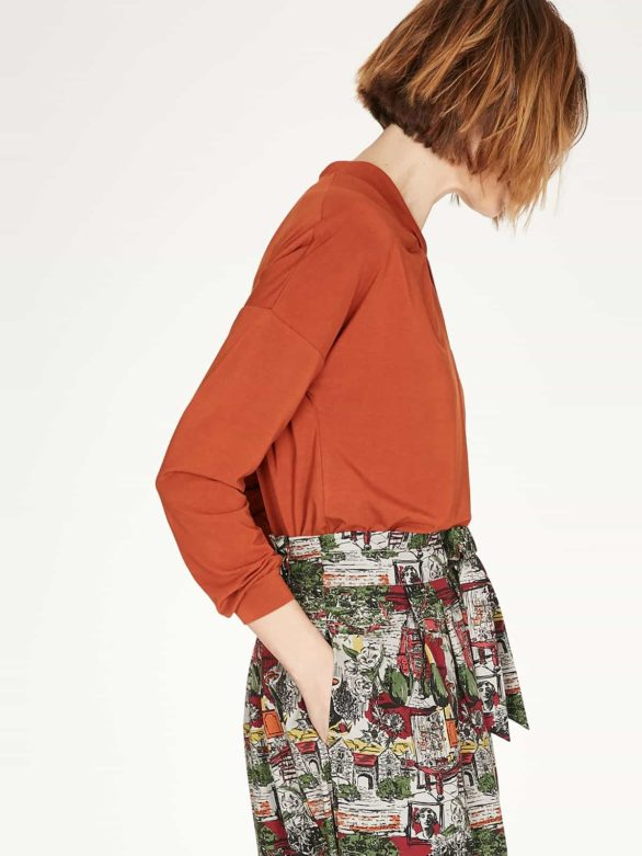 Thought bambusový top joan oranžový