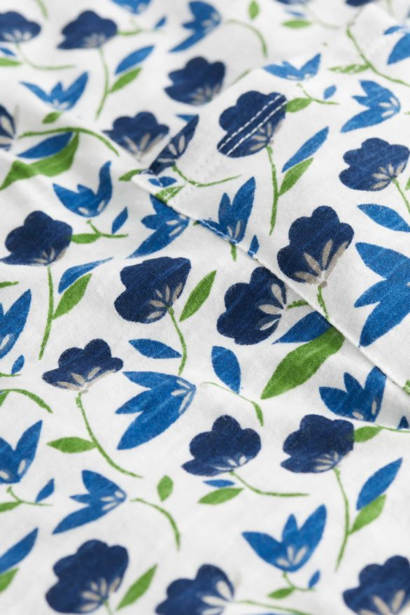 Seasalt Cornwall tunika z bio bavlny artist palette meadow