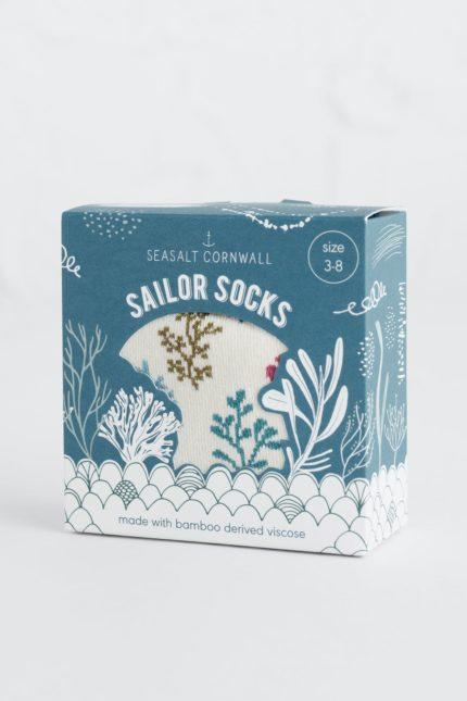 Seasalt Cornwall dárkové dámské ponožky seabed mix