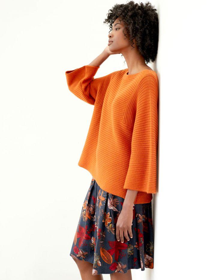 Thought svetřík elisha oranžový s vlnou