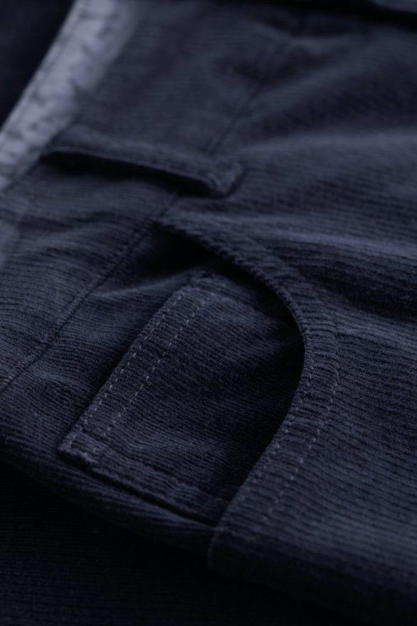 Seasalt Cornwall slim kalhoty lamledra midnight