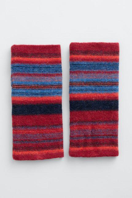 Seasalt Cornwall bezprstové rukavice malva dahlia