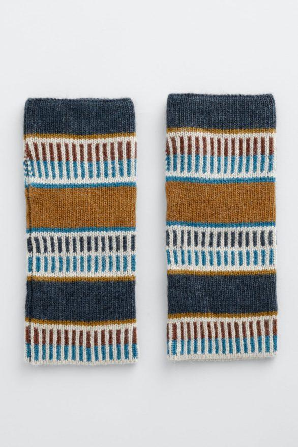 Seasalt Cornwall bezprstové rukavice malva raven
