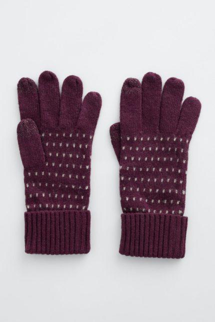 Seasalt Cornwall rukavice clever shannon compote