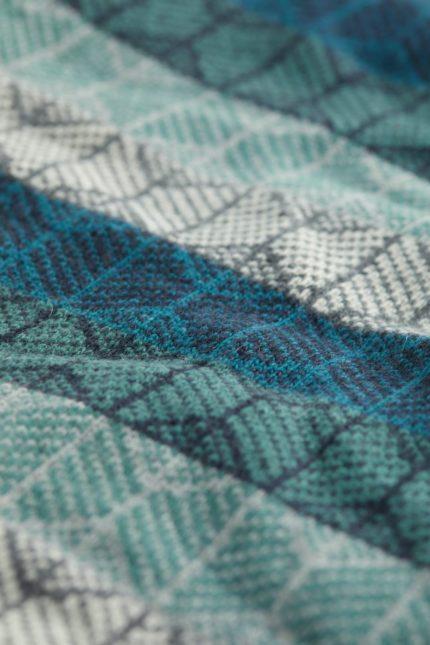 Seasalt Cornwall kruhová šála touchstone maze nettle