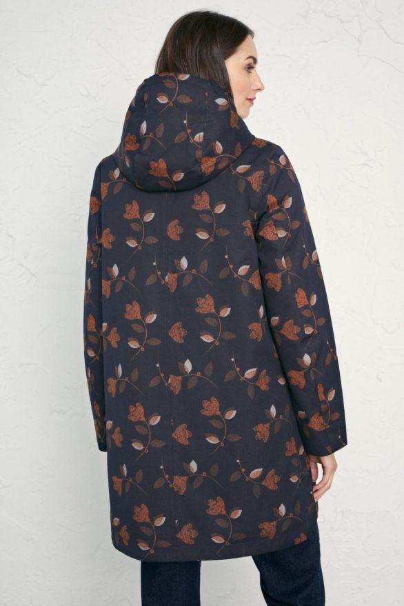 Seasalt Cornwall kabát saltstone tulip z bio bavlny