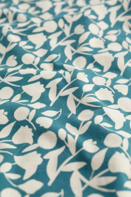 Seasalt Cornwall kruhový šátek paper silhouette z bio bavlny