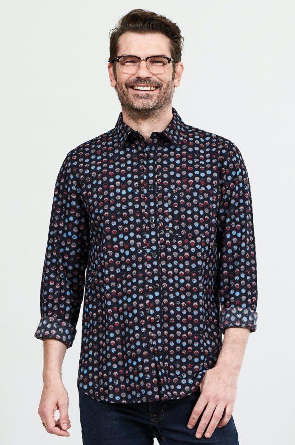 Nomads pánská košile bubble graphite