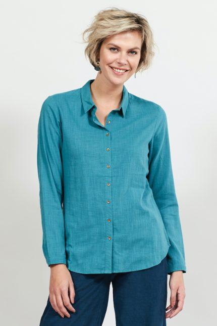 Nomads košile s dlouhým rukávem modrá