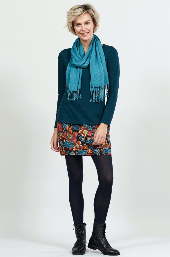 Nomads manšestrová sukně cocoa