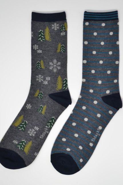 Thought dárkové balení pánských ponožek hamond