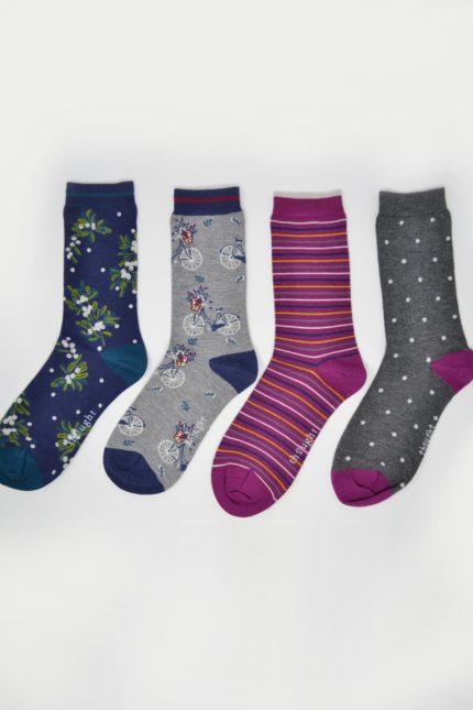 Thought dárkové balení dámských ponožek katherine